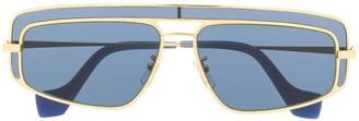 Loewe Top Bar Insert Aviator Sunglasses