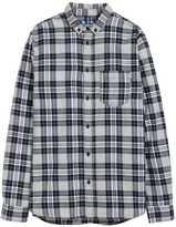 H&M Plaid Flannel Shirt - Dark blue/gray - Men