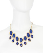 Fragments for Neiman Marcus Station Bib Necklace, Blue