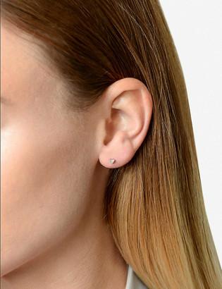 THE ALKEMISTRY Diamond Heart 14ct rose-gold earring