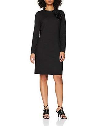 More & More Women's 81113603 A-Line Long Sleeve Dress - Multicolour