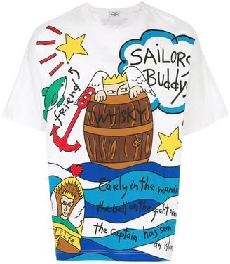JC de CASTELBAJAC Pre-Owned Sailor T-shirt