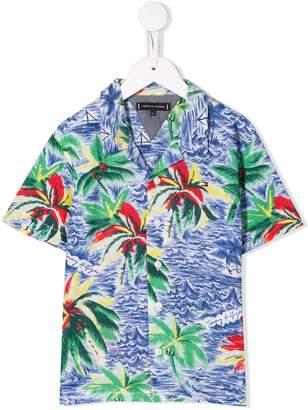 Tommy Hilfiger Junior tropical print shirt