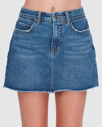 Element Andie Denim Skirt