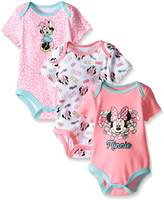 Disney Baby Minnie Mouse 3 Pack Bodysuits