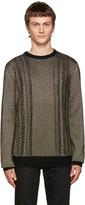 Balmain Gold Crewneck Sweater