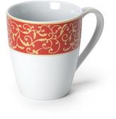 Mikasa Parchment Rouge Mug