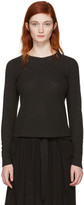 Ann Demeulemeester Black Toulouse Pullover