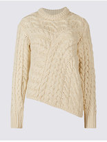 Limited Edition Cable Knit Round Neck Jumper