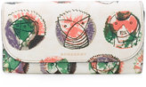 Burberry printed continental wallet - women - Calf Leather/Polyamide/Cotton - One Size