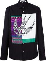 McQ by Alexander McQueen Swallow appliqué shirt