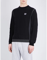 Kenzo Tiger-logo Crewneck Knitted Jumper