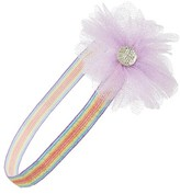 Plh Bows & Laces Embellished Glitter Headband