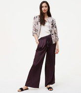 LOFT Sateen Fluid Drawstring Pants