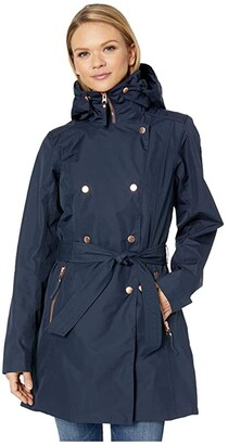 Helly Hansen Welsey II Trench (Forest Night) Women's Coat