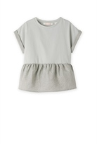 Country Road Woven Peplum T-Shirt