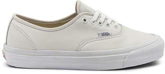 Vans OG Authentic LX in White | FWRD
