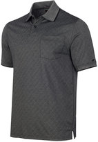 Greg Norman for Tasso Elba Men's Pima Cotton Diamond Print Soft Touch Polo