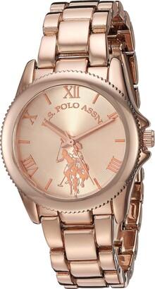 U.S. Polo Assn. Women's Quartz Watch with Alloy Strap