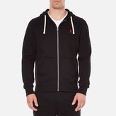 Polo Ralph Lauren Men's Zip Through Hooded Athletic Fleece Polo Black
