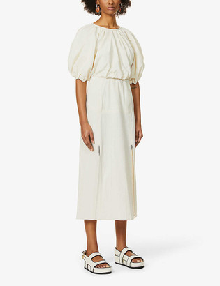 Camilla And Marc Vega gingham-print stretch-cotton midi dress