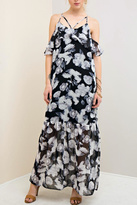 Entro Floral Printed Maxi Dress