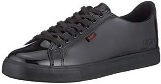 Kickers Girls' Tovni Lacer Patent Trainers, Black (Black 0001), (39 EU)