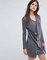 AllSaints Drina V-Neck Dress