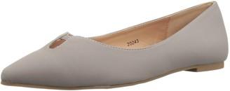 Brinley Co. Women's Henna Ballet Flat