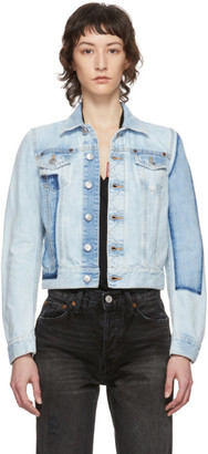 DSQUARED2 Blue Denim Classic Jacket