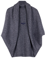 Chunky Knit Buttonless Shrug Cardigan