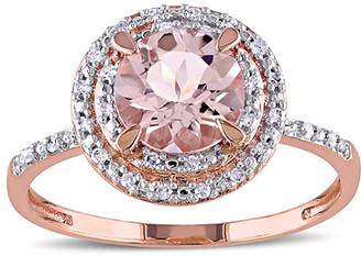Rina Limor Fine Jewelry 10K Rose Gold 0.09 Ct. Tw. Diamond Ring