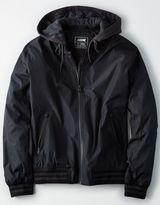 American Eagle Outfitters AE Fleece Hooded Bomber Jacket