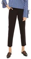 Topshop Women's High Waist Cigarette Trousers