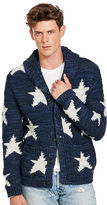 Denim & Supply Ralph Lauren Intarsia-Knit Shawl Cardigan