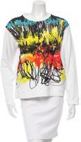 Cédric Charlier Long Sleeve Printed Sweatshirt