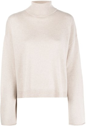 LA COLLECTION Batwing Roll Neck Jumper