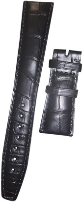 IWC Pilot Black Leather Watches