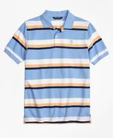 Brooks Brothers Large Stripe Polo Shirt