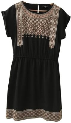 Madewell Black Silk Dress for Women