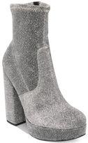Steve Madden Stardust Platform Sock Booties