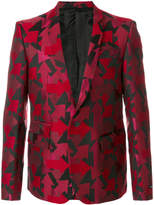 Les Hommes arrow embroidered blazer