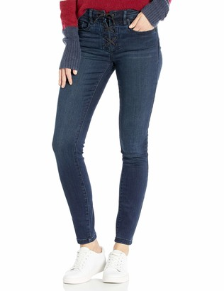 Blank NYC Women's Lace Up Denim Skinny