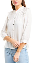 Zadig & Voltaire Tygg Satin Blouse