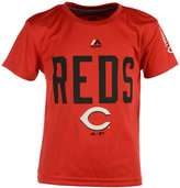 Majestic Kids' Cincinnati Reds Cool Base T-Shirt