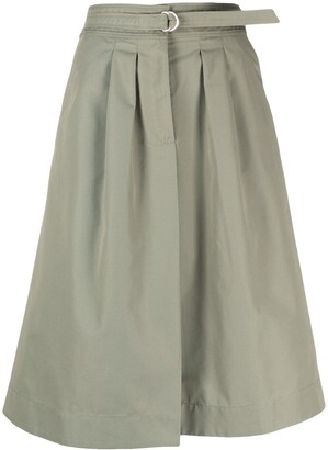 A.P.C. Caroline belted A-line skirt