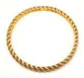 Chanel Vintage Couture Gold Tone Bracelet