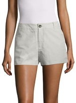 James Perse Tailored Twill Shorts