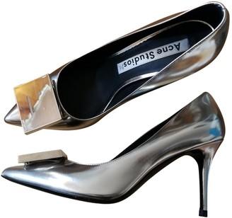 Acne Studios Gold Patent leather Heels