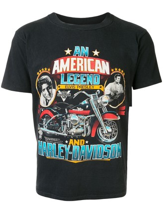 Fake Alpha Vintage An American Legend print T-shirt